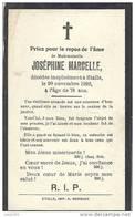ETALLE ..-- Melle Joséphine MARCELLE . 1842 - 1920 . - Etalle