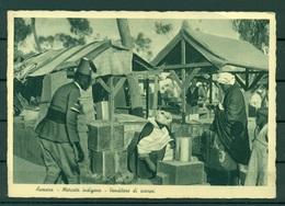 Erythrée 1936 - CPA Asmara - Marché Indigène - Vendeur De Chaussures - Erythrée