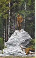 AK 0025  Bad Ischl - Kaiser Franz Josef Jagd-Denkmal / Verlag Brandt Um 1930 - Bad Ischl
