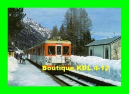 AL 215 - Automotrice Z 601 En Gare - LE BUET Commune De VALLORCINE - Haute Savoie - SNCF - Other Municipalities