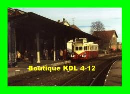 AL 231 - Autorail Renault VH 24 CFTA En Gare - CERNAY - Haut Rhin - SNCF - Cernay