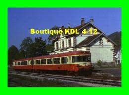 AL 233 - Autorail Caravelle En Gare - BUSSANG - Vosges - SNCF - Bussang
