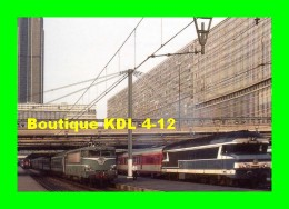 AL 282 - Train Le Jules Verne - Loco CC 72000 En Gare - PARIS MONTPARNASSE - SNCF - Metropolitana, Stazioni