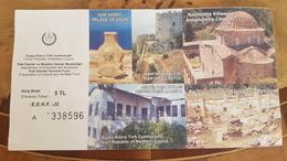 Turkey-Cyprus MUSEUM TICKET - Tickets - Entradas
