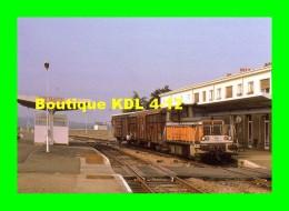 AL 290 - Train - Locotracteur Y 8056 En Gare - COUTANCES - Manche - SNCF - Coutances