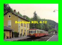 AL 320 - Autorail X 2424 En Gare - LES EYZIES - Dordogne 24 - SNCF - Andere Gemeenten