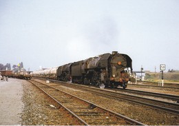 TRAIN--56  AURAY--les 141 R 1338 Et 1069 Approchent De La Gare De NANTES-ORLEANS---voir 2 Scans - Trains