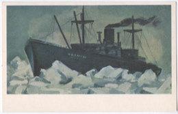 Steamboat Chelyuskin 1971 AL - Piroscafi