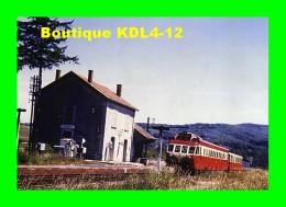AL 382 - Autorail Renault ADX 2 X 5100 En Gare De Gages - MONTROZIER - Aveyron - 12 - SNCF - Sonstige Gemeinden