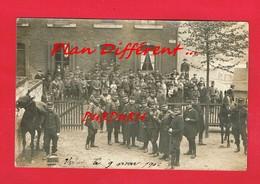 [54] Meurthe Et Moselle > VILLERUPT Carte Photo Grèves Groupe D'Officiers Et Soldats Du 162me Régiment D'Infanterie - Other Municipalities
