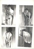 Photo 9 X 13 Cm Homme Nu Masculin Gay 4 Photos - Nu Masculin < 1945