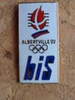 PIN'S ALBERTVILLE 92 BIS - Jeux Olympiques