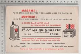 BUVARD SPECIALISTE DU CHAUFFAGE Les Fils CHARVET , TOURS - Electricity & Gas