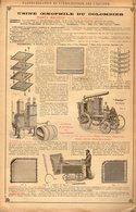 PUB 1906 - Pasteurisation Stérilisation, Usine Du Colombier à Caudéran 33 , Pippermint à Revel 31 - Advertising