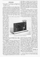 CINEGRAPHE Appareil Pour Demontrer La Composition Des Mouvements  1895 - Sciences & Technique