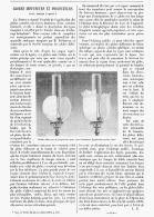 GLOBES DIFFUSEURS Et PROJECTEURS Pour FOYERS LUMINEUX   1895 - Lamps