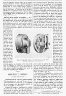 """ELECTRICITE PRATIQUE  """" L' INTERUPTEUR ELIESON """"  1895 - Sciences & Technique"""