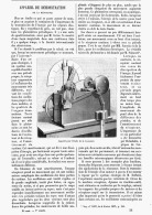 APPAREIL De DEMONSTRATION De La RESONANCE  1895 - Sciences & Technique