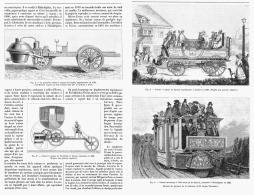 HISTOIRE DES VOITURES AUTOMOBILES  1895 - Transports