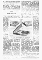 """ELECTRICITE PRATIQUE  """" LE CHERCHEUR DE POLE  De  MM. DUCRETET Et LEJEUNE  """"  1895 - Sciences & Technique"""