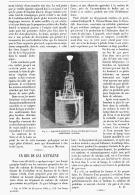 UN BEC DE GAZ ACETYLENE   1895 - Sciences & Technique