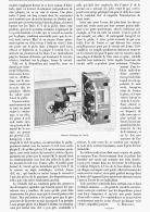 SCIENCE PRATIQUE   ( SERRURE ELECTRIQUE DE SECURITE )  1895 - Sciences & Technique
