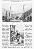 LES DEBUTS DES CHEMINS DE FER   1895 - Ferrovie