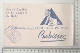 BUVARD COUCHES BABISSEC Tampon AU PARADIS DES DAMES Tours - Bambini