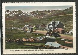 Nº 54 VALLS D'ANDORRA. PAS DE LA CASA FRONTERA FRANCO-ANDORRANA . V. Claverol. (L.C) - Andorra