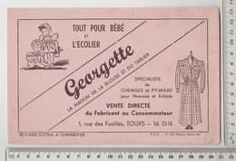 BUVARD GEORGETTE La Maison De La Blouse Et Du Tablier TOURS - Textile & Clothing