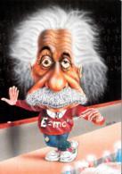 [MD2207] CPM - ALBERT EINSTEIN - CARICATURA - NV - Prix Nobel