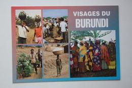 Burundi - Old Postcard  - 1970s - Typical Views - Burundi