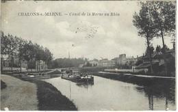 51 - Chalons Sur Marne - Canal De La Marne Au Rhin - Châlons-sur-Marne