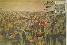 Grèce Carte Maximum 1990 Villes Grecques 1740 - Maximum Cards & Covers
