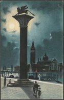 Colonna Di Todara E Isola San Giorgio, Venezia, C.1920 - Cartolina - Venezia (Venice)