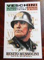 18361) CALENDARIO 2002 VESCHINI COLLEZIONISMO FASCISMO - Calendari