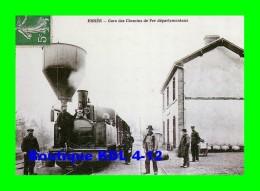 AL REP 19 - Train - Loco Corpet-Louvet 030 T N° 8 En Gare - ERNEE VILLE - Mayenne 53 - CFDM - REPRODUCTION - Ernee