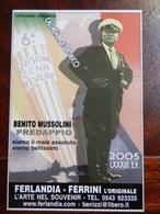 18362) CALENDARIO 2005 FERLANDIA FERRINI COLLEZIONISMO FASCISMO - Formato Piccolo : 2001-...