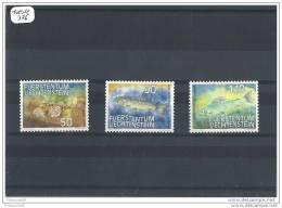 LIECHTENSTEIN 1987 - YT N° 863/865 NEUF SANS CHARNIERE ** GOMME D'ORIGINE LUXE - Liechtenstein
