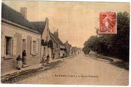 CPA INDRE-et-LOIRE.LA CROIX.ROUTE NATIONALE - France