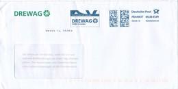 BRD Dresden Frankit 0,85 EUR PB 2018 DREWAG Energieunternehmen - Affrancature Meccaniche Rosse (EMA)