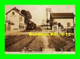 AL REP 31 - Train, Loco 141 TB 637 En Gare - BERCHERES LES PIERRES - Eure Et Loir - SNCF - REPRODUCTION - Other Municipalities