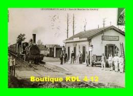 AL REP 36 - Train Entrant En Gare - BEAULIEU LE COUDRAY - Eure Et Loir 28 - ETAT / 5éme Génie - REPRODUCTION - Frankrijk