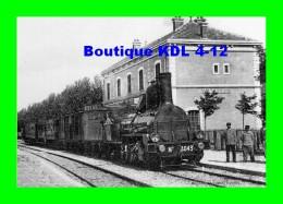 AL REP 55 - Train - Loco 040 N° 4043 En Gare VALREAS - Vaucluse 84 - PLM - Reproduction - Valreas