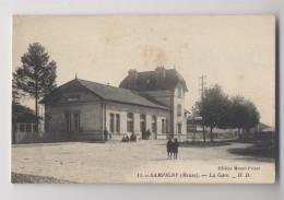 SAMPIGNY (55 - Meuse) -  La Gare - Animée - France