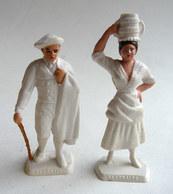 FIGURINE PUBLICITAIRE MOKAREX - PROVINCES DE FRANCE -  2 FIGURINES COUPLE BEARNAIS Béarne - Figurines