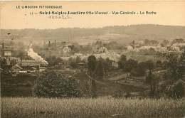 060918A - 87 ST SULPICE LAURIERE Vue Générale La Roche - Limousin Pittoresque - Train - Andere Gemeenten