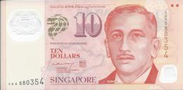 Singapour - Singapore    10 Dollars    Nd(2004)   - UNC - Singapore