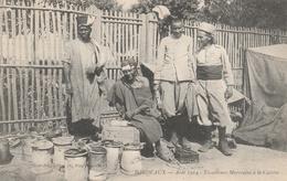 33-BORDEAUX-AOUT 1914--TIRAILLEURS MAROCAINS A LA CUISINE--TBE--VOIR SCANNER - Bordeaux