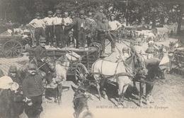 33-BORDEAUX-AOUT 1914-TRAIN DE L'EQUIPAGE--TBE--VOIR SCANNER - Bordeaux
